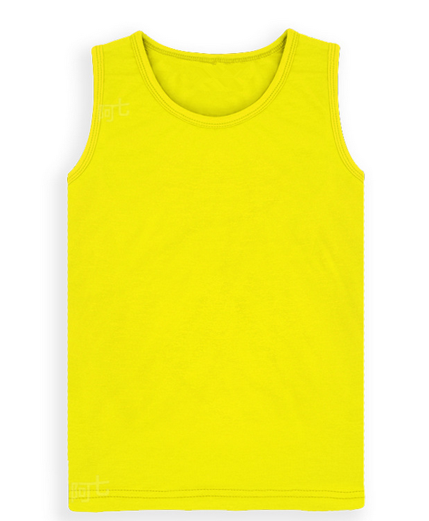 Wholesale Cotton Fashion vest Kids Plain Tank Top