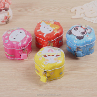 Lovely ball shape food grade packaging metal tin boxes wholesale