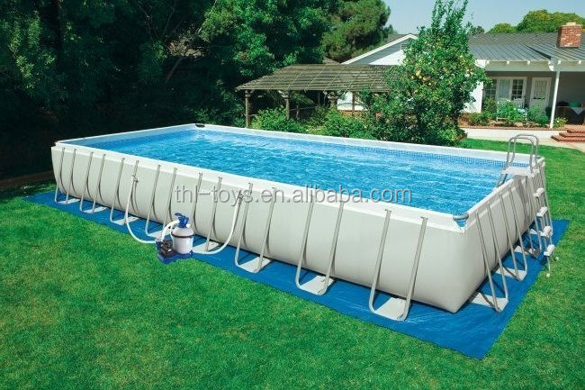) 저 (low) cost (high) 저 (quality intex metal frame 풀 12x36/used swimming 풀 대 한 \ % sale