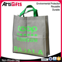 Promotion cheap reusable foldable non woven bag