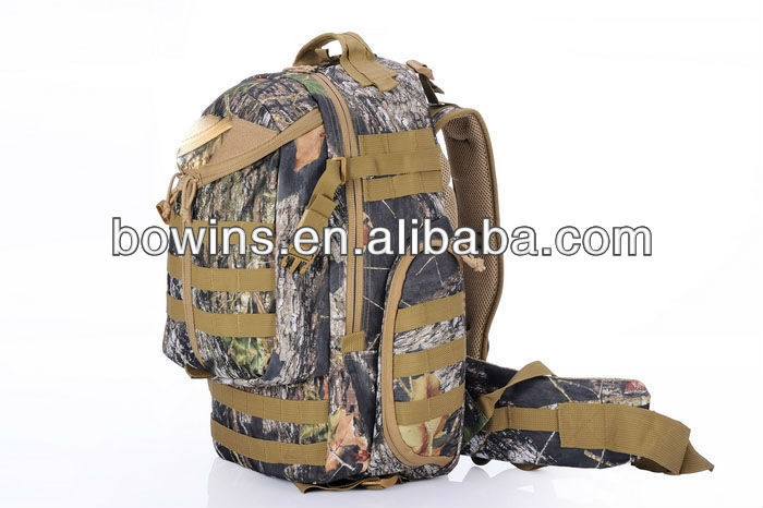 Outdoor camouflage hunting tactical back pack