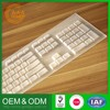 Best Selling Low Price Design Your Own Translucent Harmless Silicone Protective Keyboard Covers