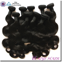 Grade 5A 6A 7A Thick Ends 3 bundles red brazilian hair weave