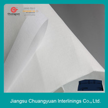 100% cotton interlining fusible buckram/woven interlining for trousers