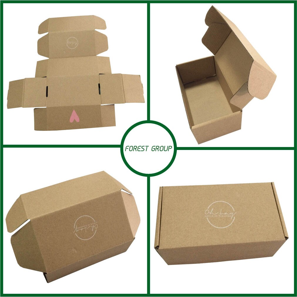 Cheap wear resistant custom cupcake take away paper box