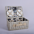 hotsale natural color wicker picnic storage basket picnic set