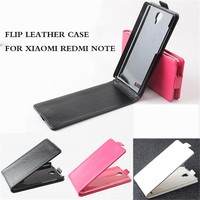 leather flip cover case for xiaomi redmi note, leather phone case for xiaomi mi4 mi3