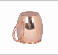 Copper Moscow Mule Mug Brand New 12 Ounces copper coated mug/Stainless Steel 89