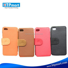 High Quality Personalized Sublimation Blank Leather Phone Case For iPhone 4 Of Good Price