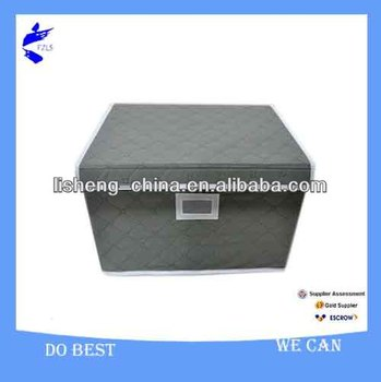 Foldable Bamboo Charcoal Storage Container with Lid