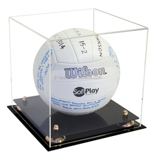 Acrylic Football Display Holder High Quality Clear Acrylic Volleyball Display Case