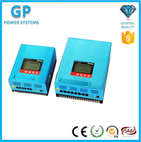 GP-controller wholesales 12v/24/36/48/60/96v 30A 60A high efficiency MPPT solar charge controller gel battery