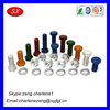 Hardware products factory nut bolt machine fitting , furniture connector bolt , furniture joint connector bolts