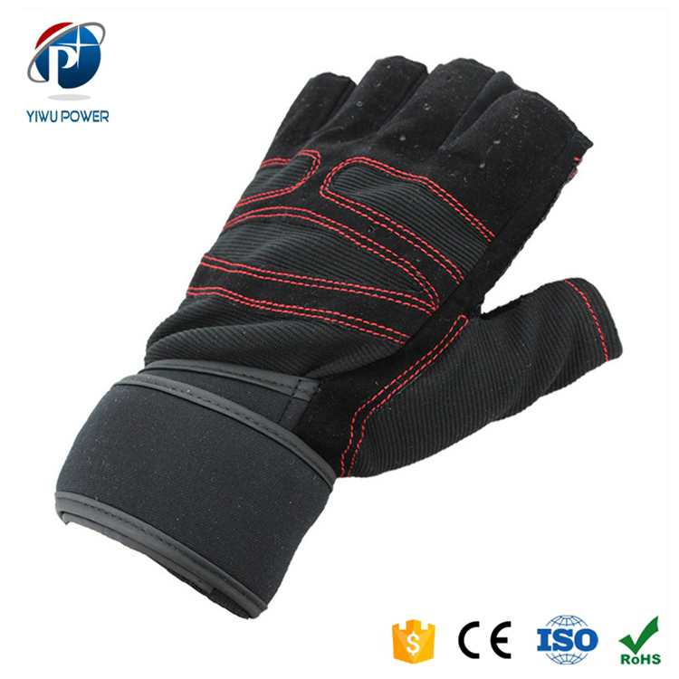 YP-SG-0003 Wholesale Outdoor Sport Customized Weight Lifting Gloves