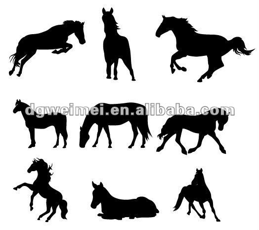 black horse animal tattoo for distributors
