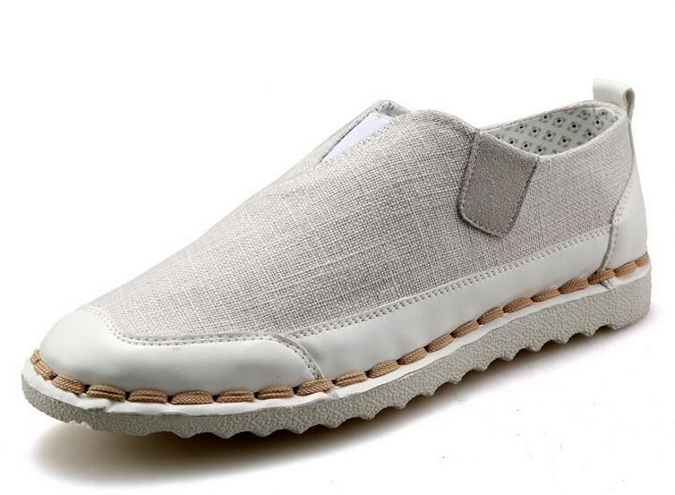 Wholesale Low price rubber sole casual white canvas men party shoes