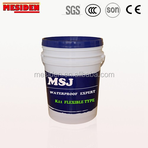 K11 Acrylic Modified Flexible Waterproof Paint / Coating / Slurry with Certificate