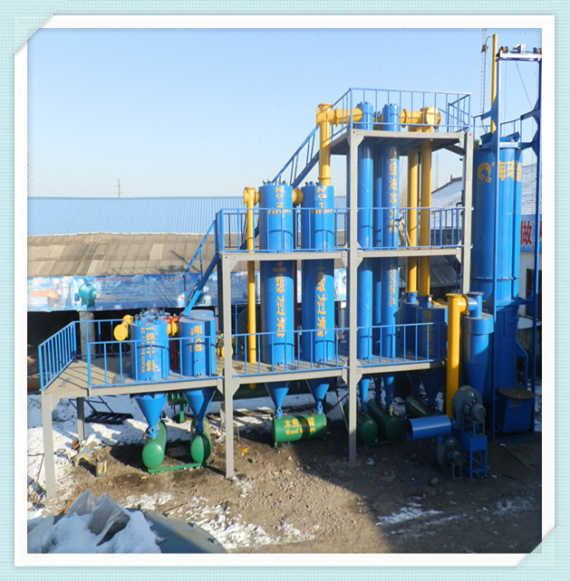 150kw tree branch gasifier power plant for sale