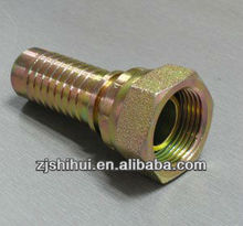 CARBON STEEL METRIC MALE 60 DEG CONE SEAT HYDRAULIC HOSE FITTINGS