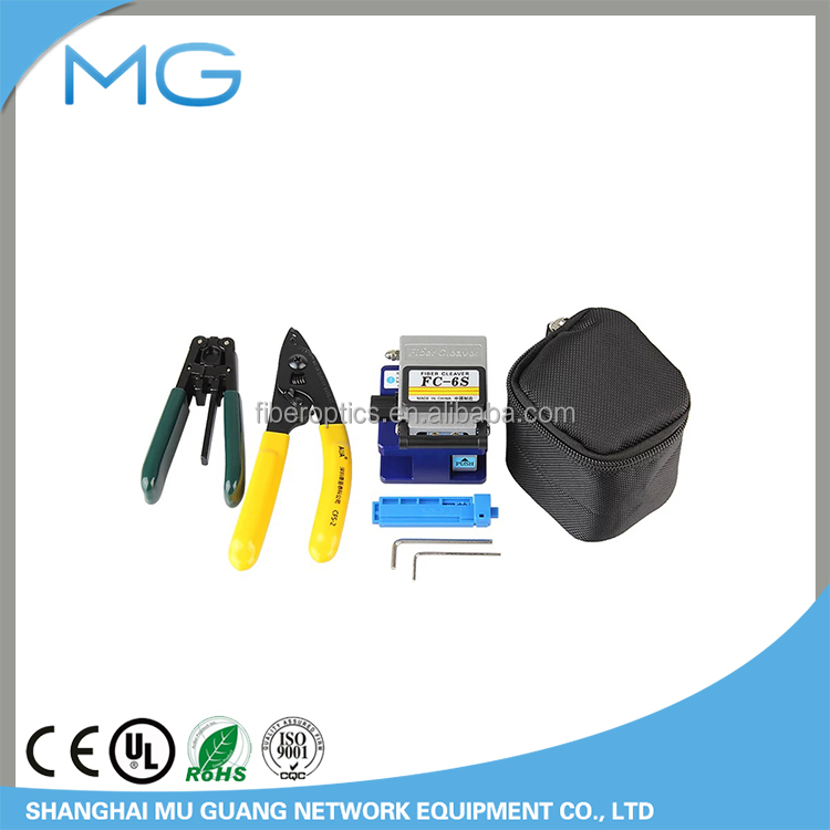 Fiber Optic FTTH Tool Kit with Fiber Cleaver