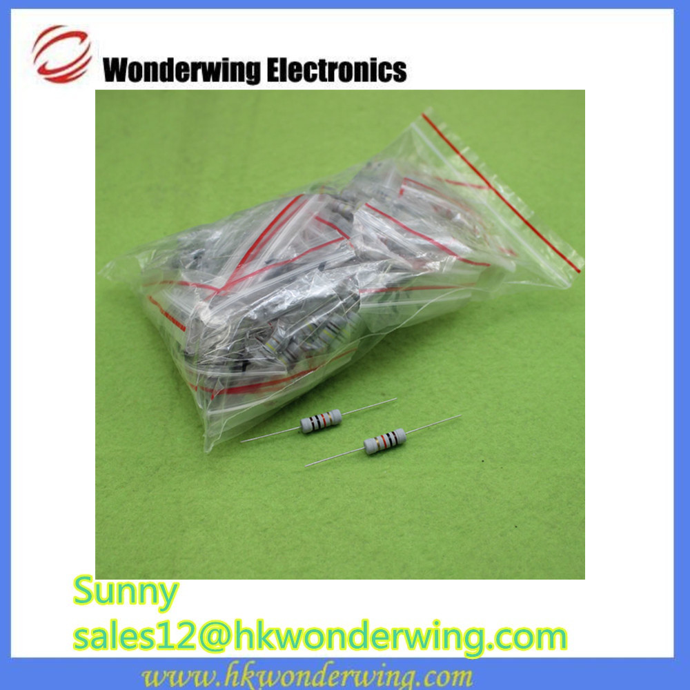 Component package 2W carbon film resistor package with 20 kinds specification