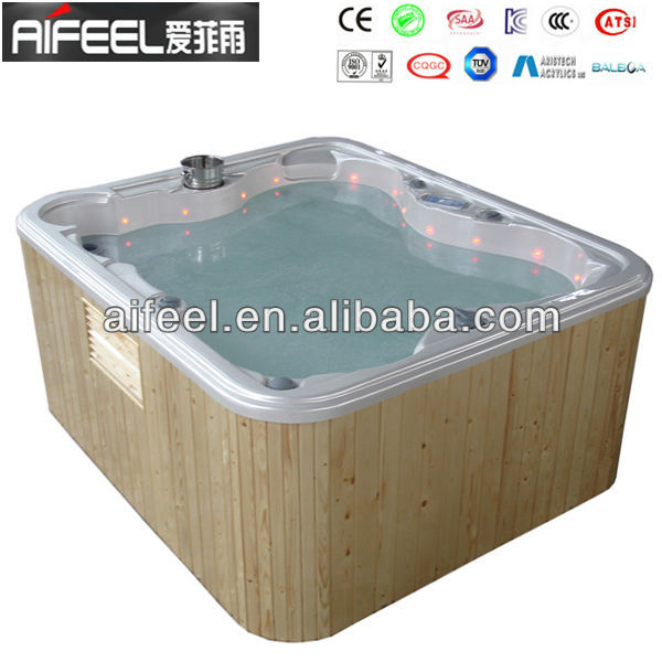 hydro massage spa hot tub with cir pump and jet pump jacuzi spa