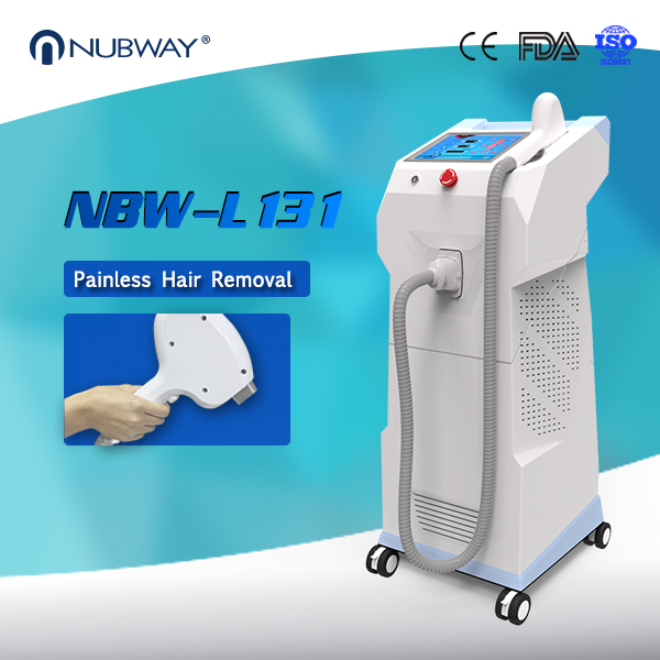 Best result!!! Painless permanent all skin type light sheer diode laser hair removal machine