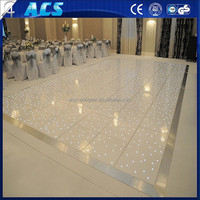 2015 new white dance floor animation,easy install Led dance floor,LED starlit Dance Floor