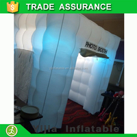 Led party used wedding decorate inflatable photo booth supplier