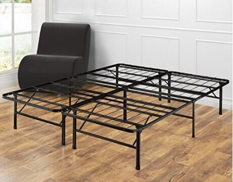 Good Quality and Attractive Price Queen Metal Folding Foundation Frame