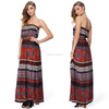 wholesale latest bangkok clothes OEM long maxi Bangkok dress for ladies