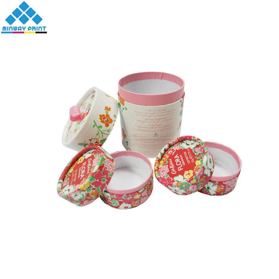 High-quality Gift&Craft Industrial Use and Handmade Feature Round Beautiful Cardboard Hat Paper Tube Box Packaging Item