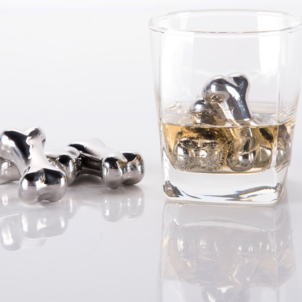 Bar Accessories Type and Stainless Steel Metal Type Stainless Steel Wine Ice Cubes