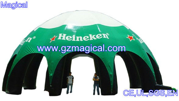 Giant outdoor dome inflatable tent canopy