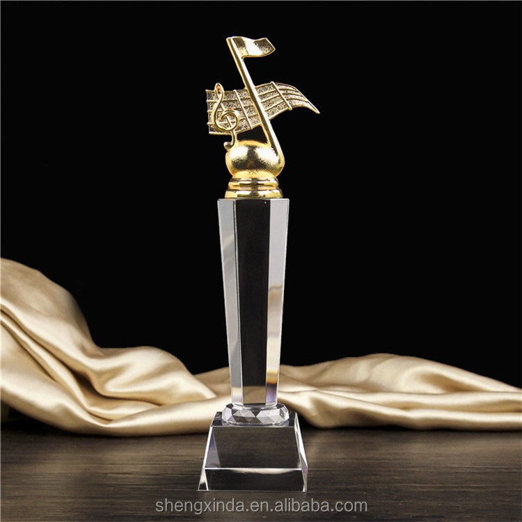 professional custom music trophies with good price