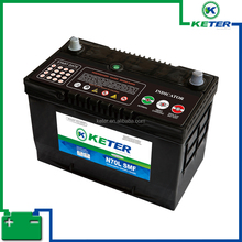 DIN JIS Japan Germany Standard Keter brand Lead acid maintenance free battery