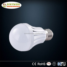 3w 5w 7w 9w 12wLED Bulb Plastic E27 B22 Variable Led Lamp Light