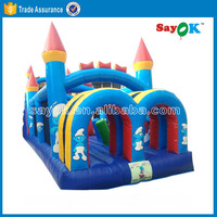 frozen inflatable air bounce kids jumping castle blower