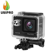 MGCOOL Explorer 1S 4K WiFi Action Camera 170 Degree FOV - Silver Novatek 96660 Chipset IMX 078 Sensor 30m Waterproof