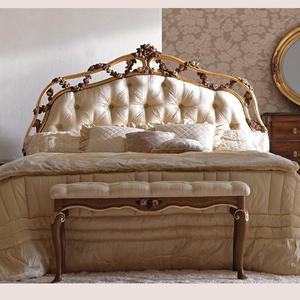 warm taupe bedroom set fancy customized home furniture hand made rococo french Renaissance furniture full set matching