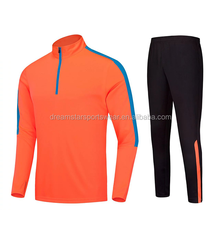 Wholesales Warm Soccer Training Tracksuit For Sport