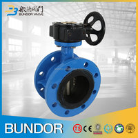 dn800 epdm coated ductile iron flange butterfly valve specification