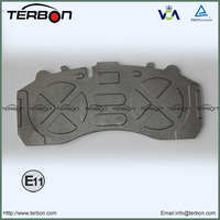 WVA29087 Cast Iron Back Plate For Mercedes Benz Trcuk Brake Pad