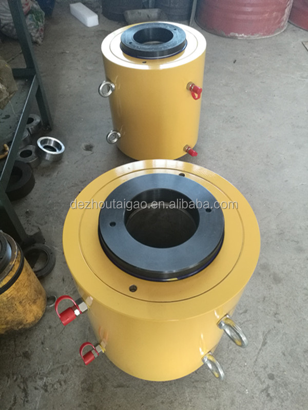5 ton Single acting piston hollow hydraulic cylinder Manufacturer