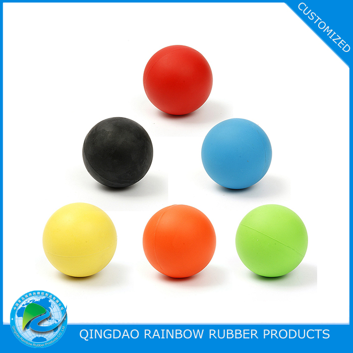 Solid 63mm EPDM / silicone rubber ball