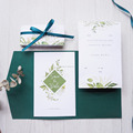 Guaranteed custom quality wedding invatation card design