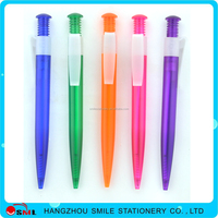 charming colorful big jumbo plastic pen with logo wholesale