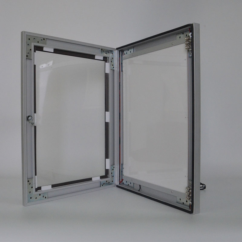 Edgeligth AF11 <strong>A0</strong> <strong>size</strong> double side indoor use door open type led light box from shanghai directly factory