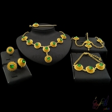 african fashion jewelry sets free wholesale jewelry catalogs Zircon gears fashion six set of jewelry set