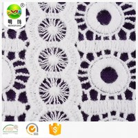 african tulle 100% cotton crochet chemical embroidery lace fabric